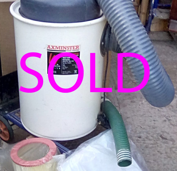 Axminster Dust collector RDC100H…..SOLD