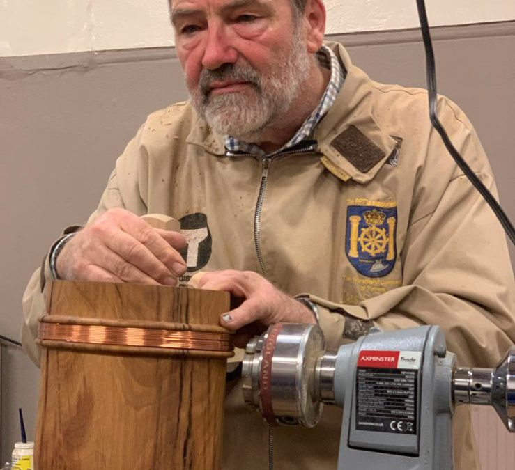 February meeting- Les Symonds Jig and Woodturning Demo