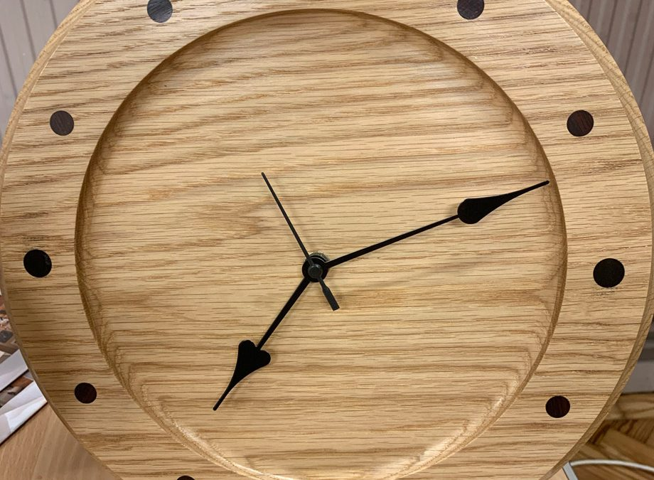 Wall clock demo by Peter Green