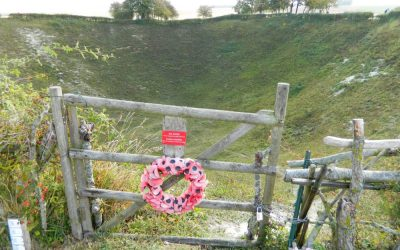 Lochnagar Crater and our Club